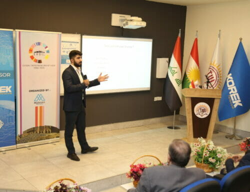 "workshop on ""Global Entrepreneurship Week"" in collaboration with Meraki Ventures Company-Erbil"
