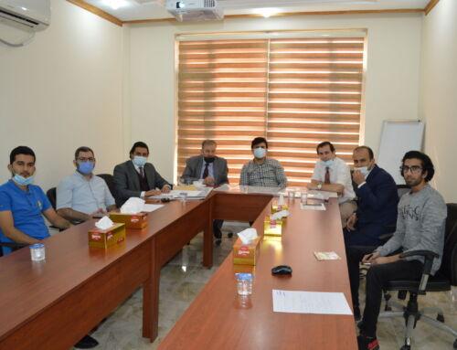 Dr.Idris Hadi visited TIU Sulaimani