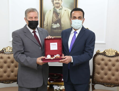 The presidency of TIU visited the Erbil governor