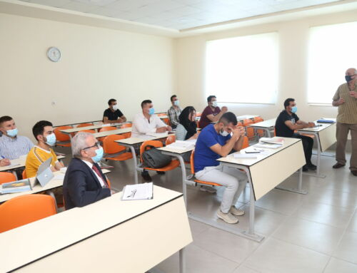 First Training Session for 11 Oil Field Engineers was accomplished at TIU