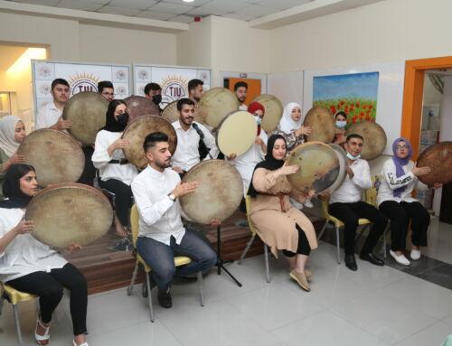 A breathtaking performance by TIU Daf Club