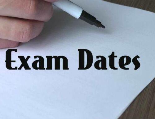 First grade Mid-term examinations