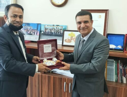 Tishk International University signed an MoU with Mid-East Aviation Academy